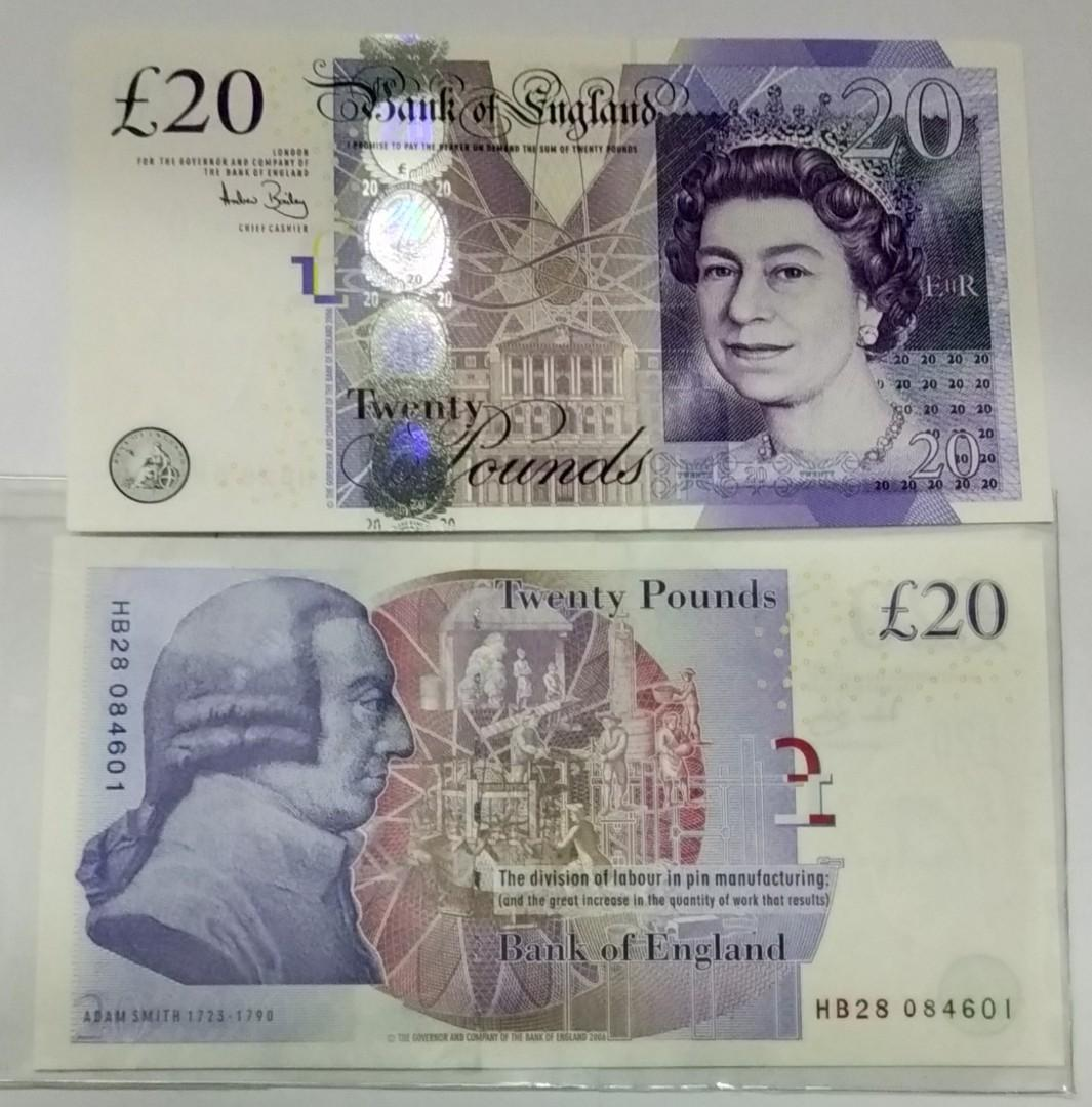 Great britain 20 pounds